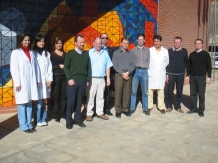 EU project visit to Spanish footwear technology centre INESCOP, Alicante.
