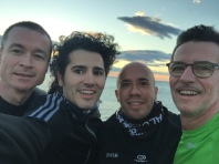Early morning run in Malaga with Spanish and Dutch ENPODHE colleagues!