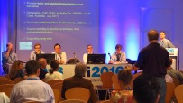 listening to questions from the floor during iFAB opening meeting in Berlin.