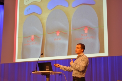 Presenting PhD work of Dr Ana Martinez to an O&P audience in Stockholm, November 2017.