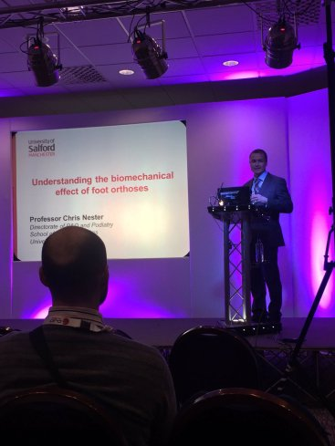 Speaking to orthotists at BAPO 2016