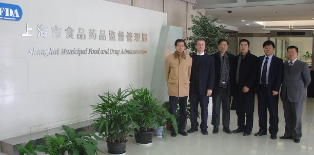 Visiting medical device regulatory authority in Shanghai, talking about therapeutic footwear.