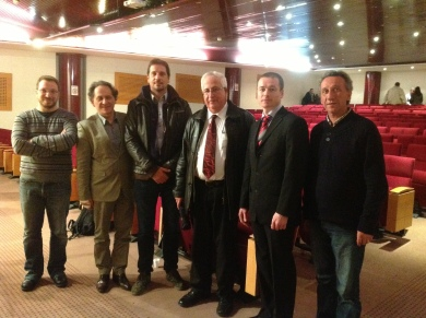 Special Podiatry Seminar in Marseilles France, with local Podiatry school colleagues.