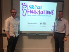 2017 Great Foundations initiative - with Dr Stewart Morrison (University of Brighton).