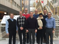 Oslo 2017 - FLOWOX EU project team, with Dr Farina Hashmi and Dr Dan Parker from Salford (to my left)